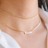 Cuban Link Name Choker