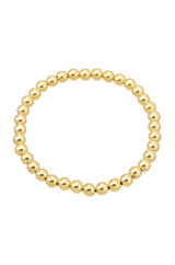 5mm Gold Bead Bracelet