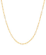 14k. Gold Open Link Chain Necklace for Locket