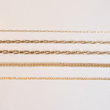 14k. Gold Open Link Chain Necklace for Locket - Out of Stock