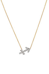 Diamond Zodiac Sign Necklace