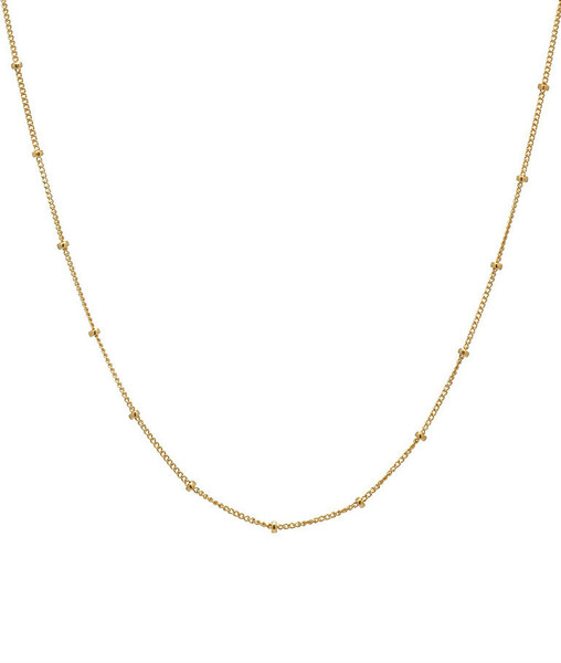 14k. Gold Segment Chain Link Necklace for Locket
