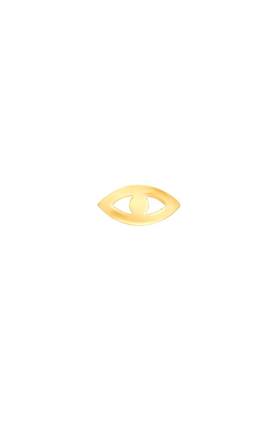 14k Gold Evil Eye for Locket