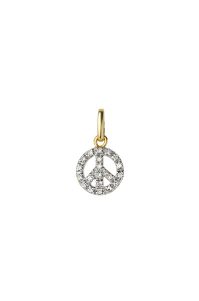 Diamond Peace Charm