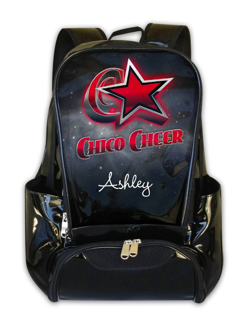 Chico Cheer Allstars Personalized Backpack