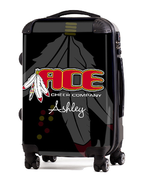 "Ace Cheer Company 24"" Check In Luggage"