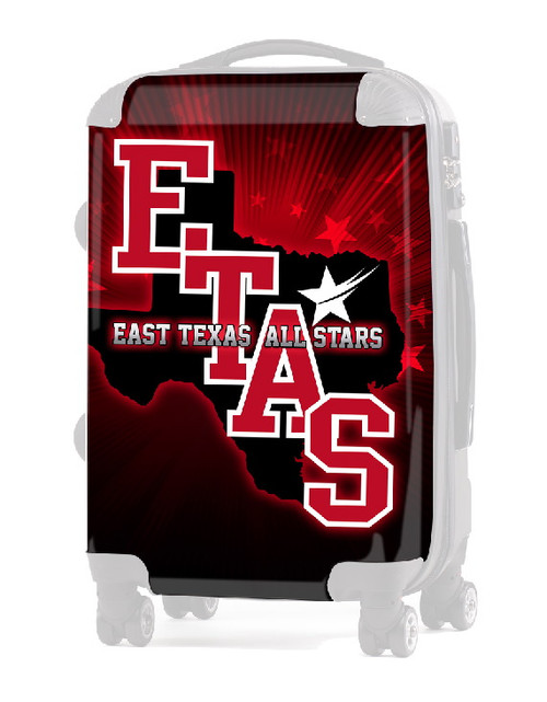 """INSERT East Texas All Stars 20"""" Carry-On Luggage"""