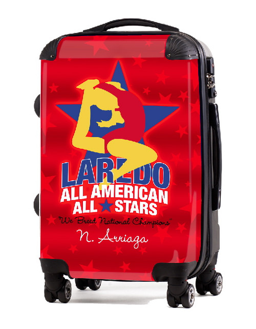 "Laredo All American All Stars 20"" Carry-On Luggage"