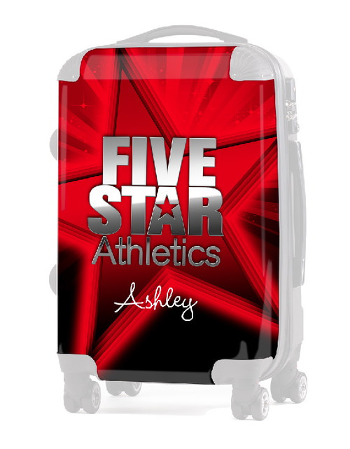 """INSERT Five Star Athletics 20"""" Carry-On Luggage"""
