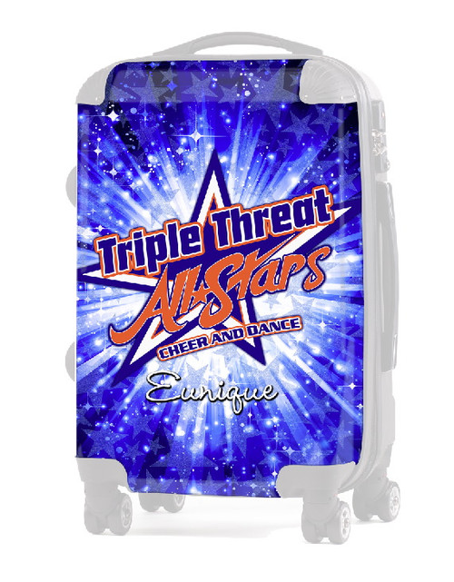 "INSERT Triple Threat Allstars 24"" Carry-On Luggage"