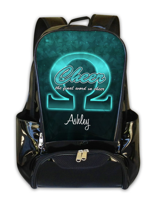 Cheer Omega -Personalized Backpack