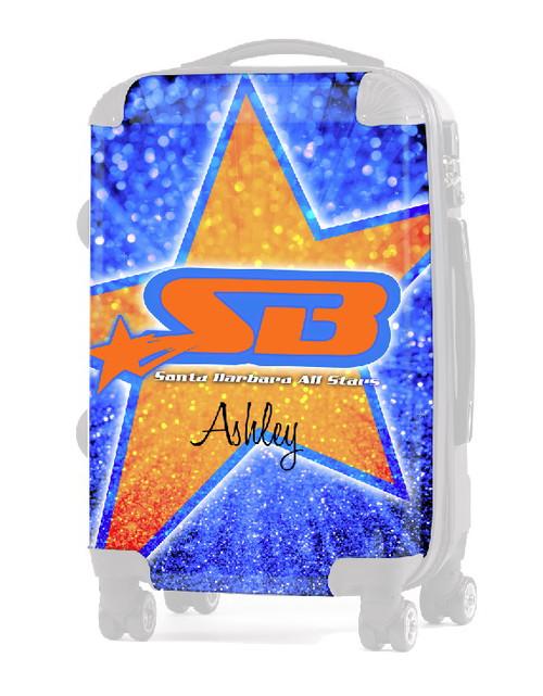 "INSERT-Santa Barbara All-Stars 20"" Carry-On Luggage"