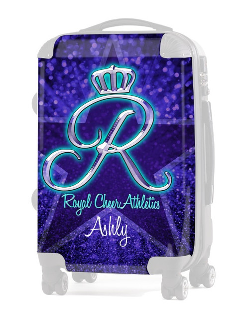 INSERT-Royal Cheer Athletics Check in Luggage 24""