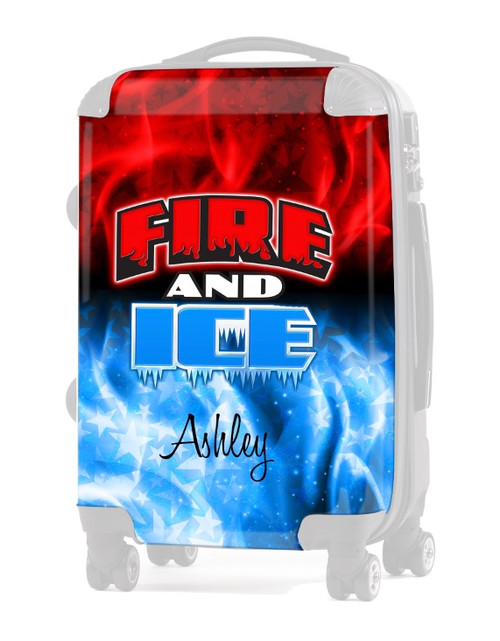 """INSERT-Fire and Ice Allstars 20"""" Carry-on Luggage"""