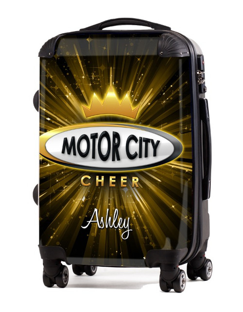 """Motor City Cheer 20"""" Carry-On Luggage"""