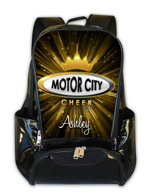 Motor City Cheer-Personalized Backpack
