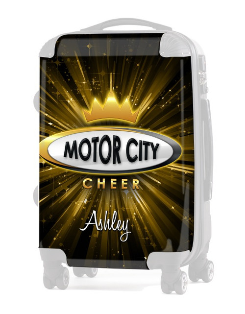"""INSERT for Motor City Cheer 20"""" Carry-on Luggage"""