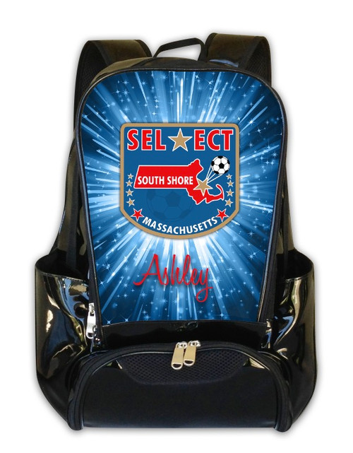 Select South Shore Massachusetts Soccer -Personalized Backpack