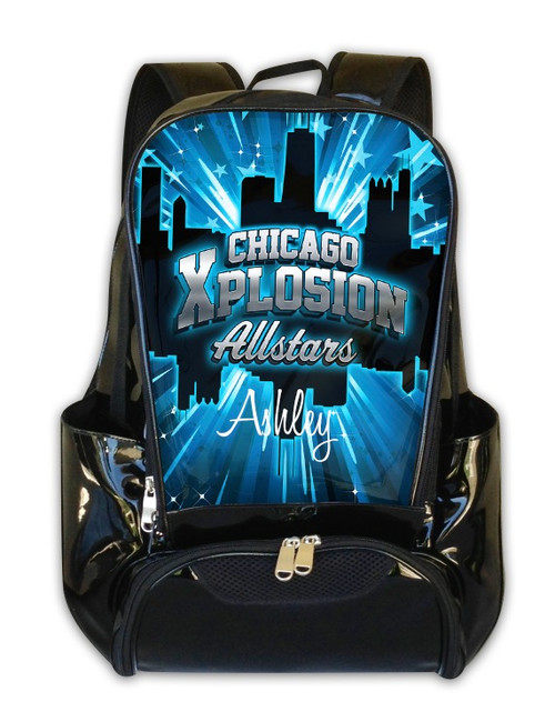 Chicago Explosion Allstars -Personalized Backpack