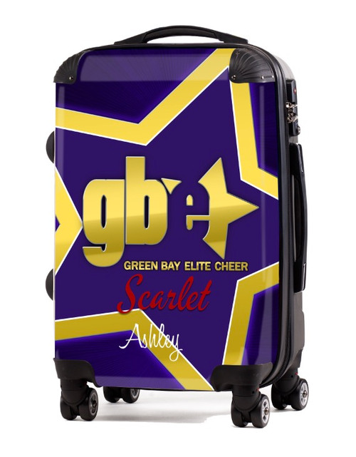 "Green Bay Elite Cheer Scarlet 20"" Carry-on Luggage"