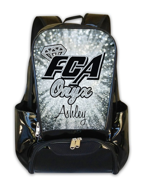 FCA Onyx  Personalized Backpack