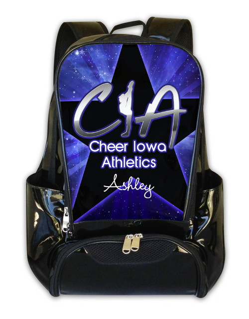 Cheer Iowa Athletics Personalized Backpack