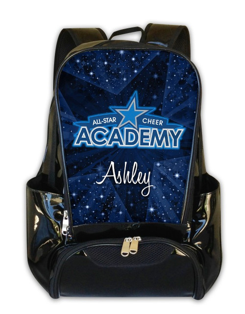 All-Star Cheer Academy Personalized Backpack