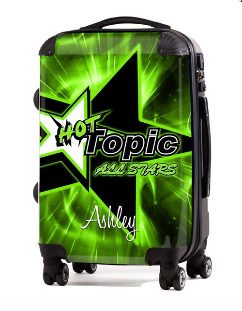 "Hot Topics All Stars 24"" Check In Luggage"