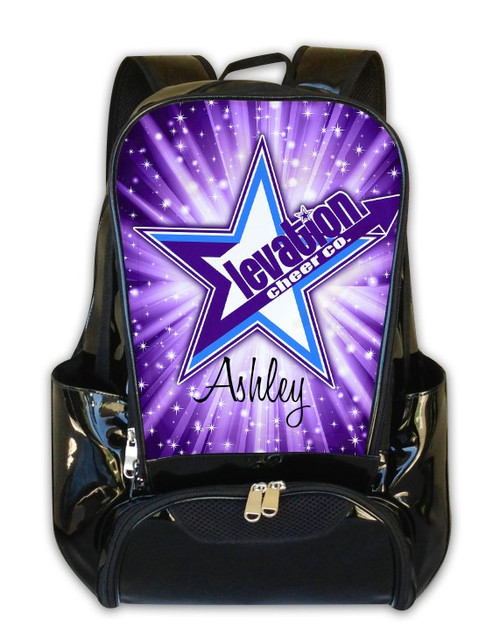 Elevation Cheer Co Personalized Backpack