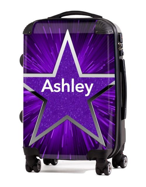 """Purple Blast 2 - 20"""" Carry-On Luggage"""