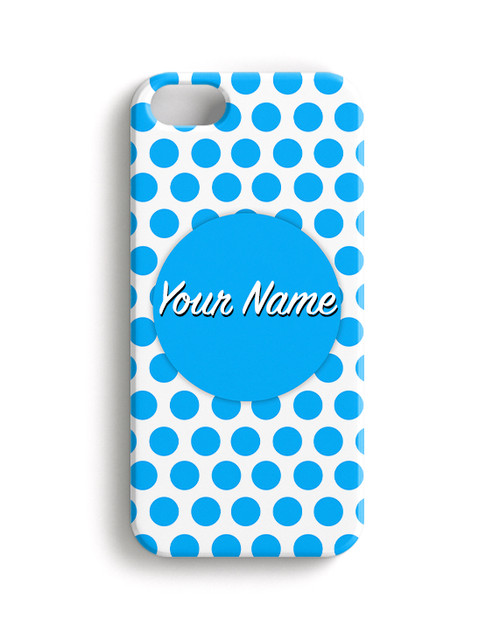 Baby Blue Dots - Phone Snap on Case