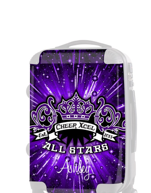 "Insert for Cheer Xcel All Stars 20"" Carry-on Luggage"