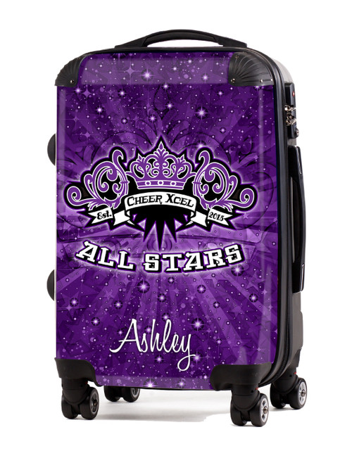 """Cheer Xcel All Stars 20"""" Carry-On Luggage"""