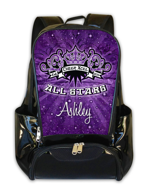 Cheer Xcel All Stars Personalized Backpack
