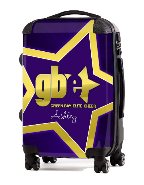 "Green Bay Elite Cheer 20"" Carry-on Luggage"