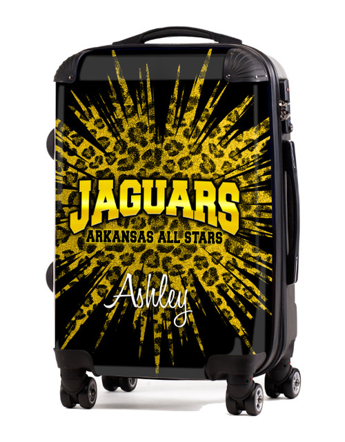 """Arkansas All Star  Jaguars 24"""" Check In Luggage"""