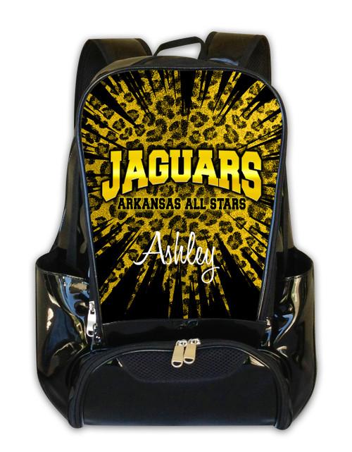 Arkansas All Star Jaguars Personalized Backpack