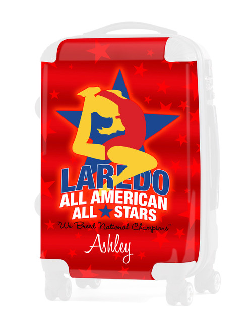 """INSERT FOR LAREDO ALL AMERICAN ALL STARS - 24"""" Check-in Luggage"""