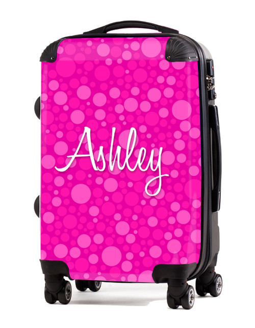 """Pink Bubbles - 20"""" Carry-On Luggage"""