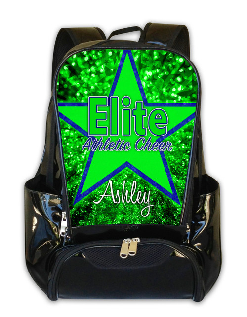Elite Athletics Cheer Personalized Backpack