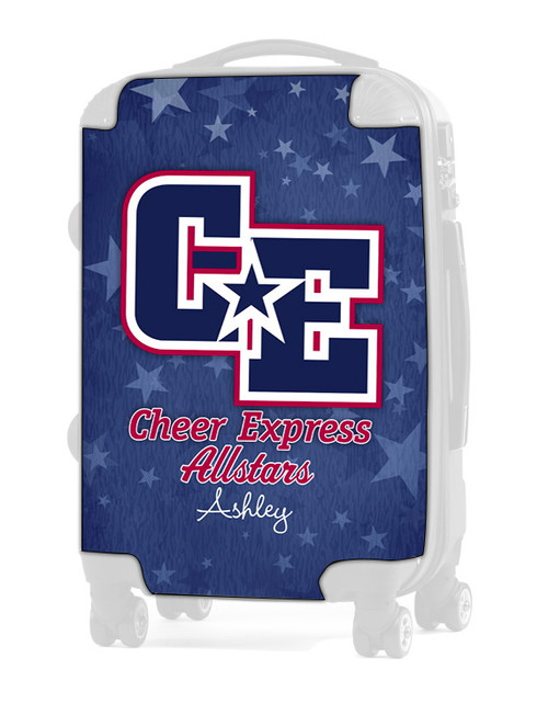 """Cheer Express All Stars - Light Blue 20"""" Carry-on Luggage Insert"""