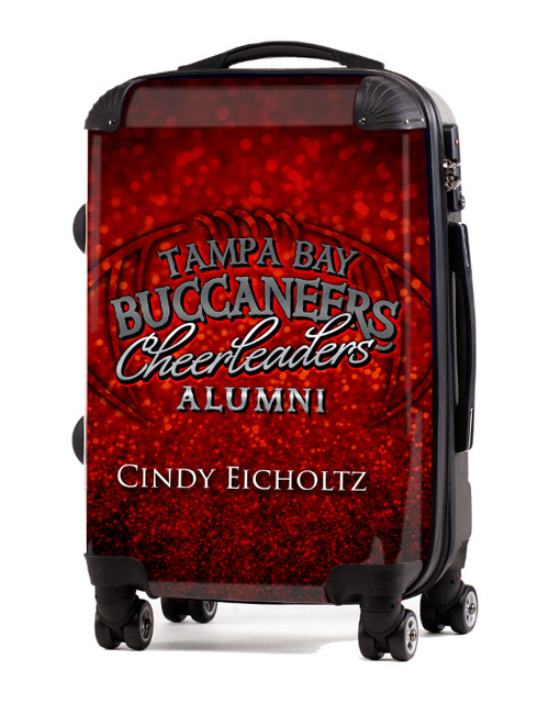 "Tampa Bay Buccaneer Cheerleaders Alumni-  20"" Carry-On Luggage"