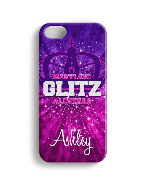 Maryland Glitz AllStars- Phone Case