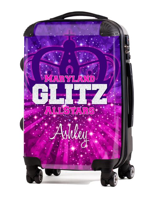 "Maryland Glitz AllStars 20"" Carry-On Luggage"
