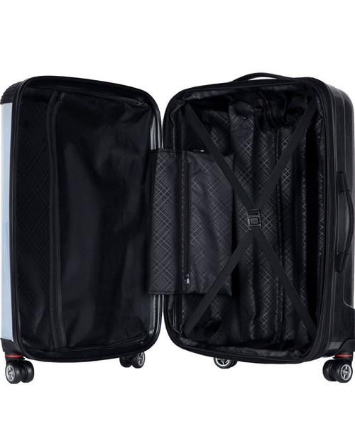 "Stingrays Allstars-Blue Glitter 2  - 24"" Check In Luggage"