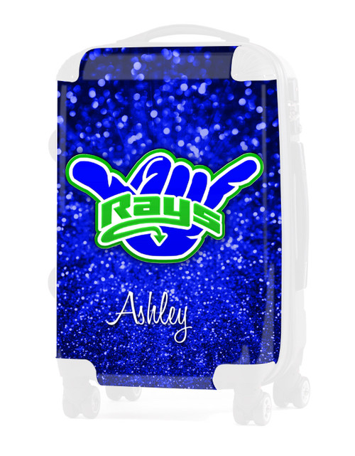 "Replacement Insert for Stingrays Allstars-Blue Glitter 2 - 24"" Check-in Luggage"