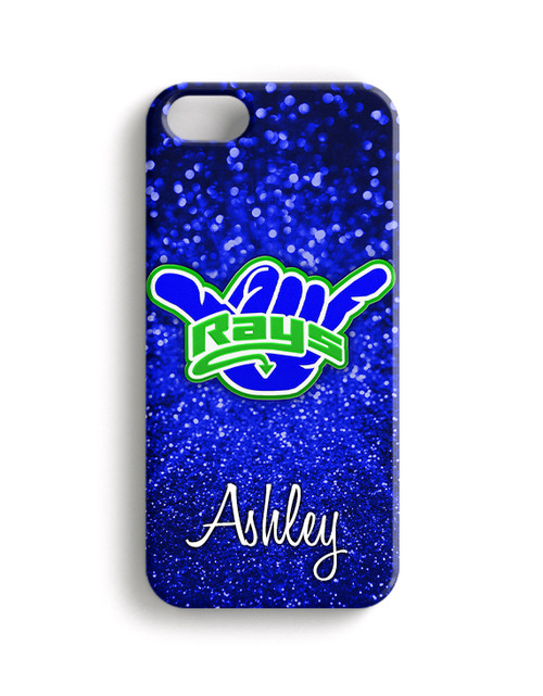 Stingrays Allstars-Blue Glitter2 - Phone Case