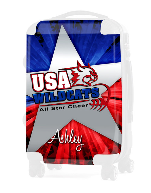 """Replacement Insert for USA WildCats - 20"""" Carry-on Luggage"""