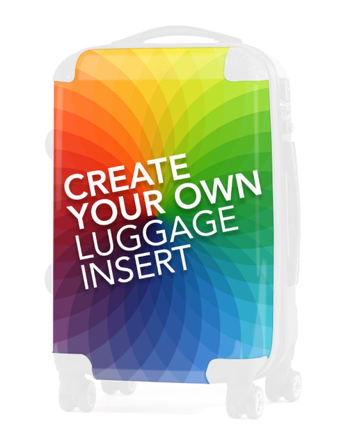 "Create Your REPLACEMENT INSERT for 24"" Check in Luggage V2"