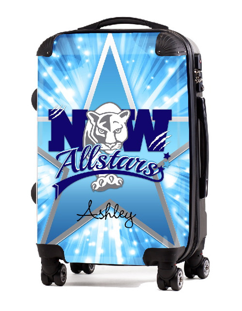 """Northwest All Star Panthers 20"""" Carry-On Luggage"""